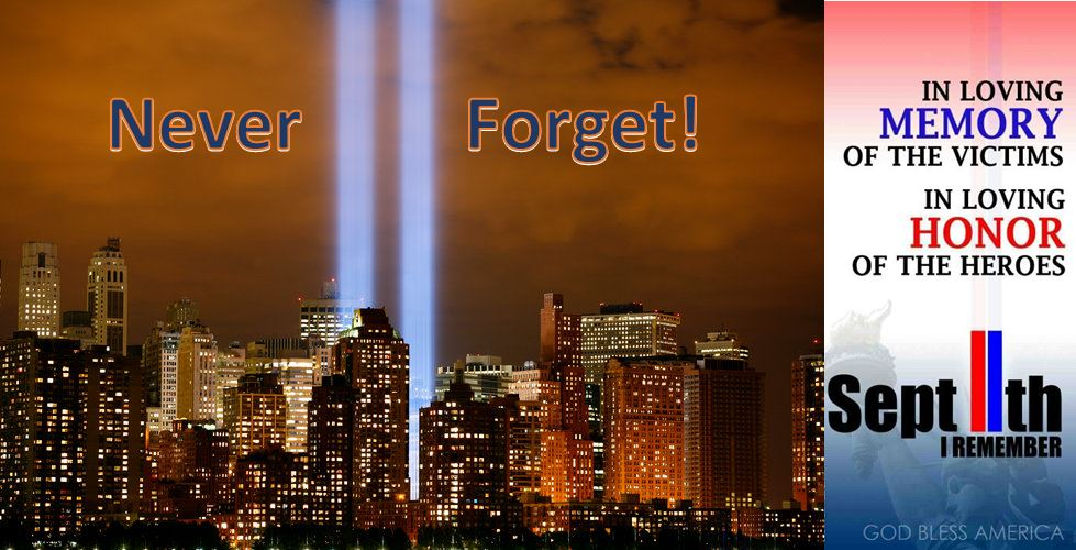 In Honor of the Victims and Heroes of 911!