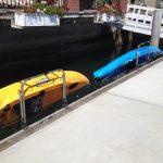 Stainless Steel Dockside Kayak Rack