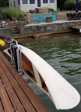 Canoe Dock Lift and Storage Rack image