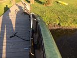 Canoe Dock Lift installed in Michigan