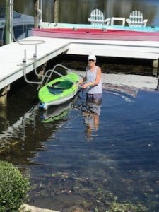 Kayak Dock Lift & Storage Rack, Florida