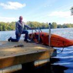 Kayak Dock Rack | Lift & Storage photo review