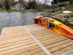 Waterside Clamp On Mount Dock Rack