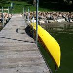 Kayak lifts for docks