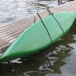 Kayak dock lift - for water entry