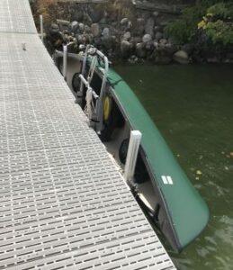 Canoe Dock Lift & Storage Rack photo review