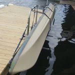 Stainless Steel Dockside Lift & Kayak Rack - Bolt On Model