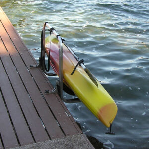 Kayak Rack and Lift - Dock Entry