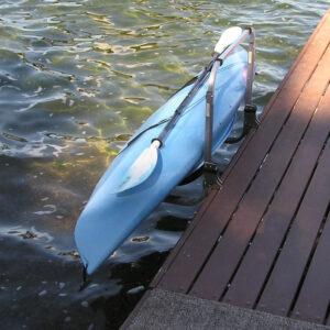 Kayak Lift & Rack - Water Entry