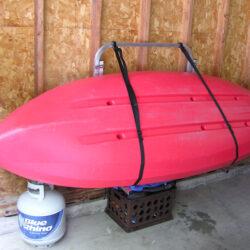 Kayak rack for garage